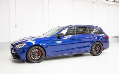 Mercedes-Benz C63S Estate GYEON quartz Protection