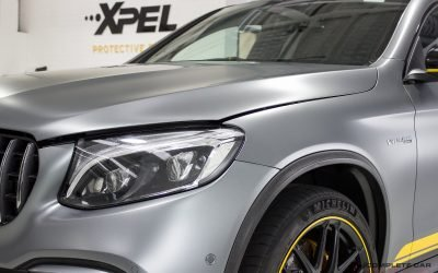 Mercedes-Benz AMG GLC 63 XPEL STEALTH Matte Paint Film Protection