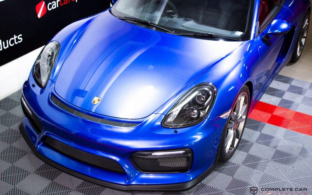XPEL Paint Protection Film – Porsche Cayman GT4