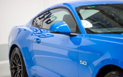 Ford Mustang GT Paint Protection with GYEON quartz Duraflex Ceramic System