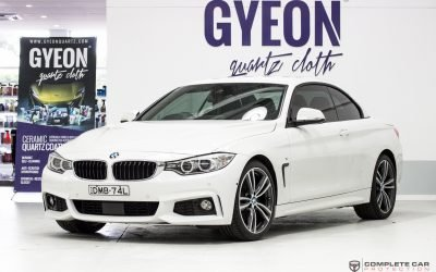 BMW 330 Convertible GYEON quartz Duraflex Ceramic Paint Protection