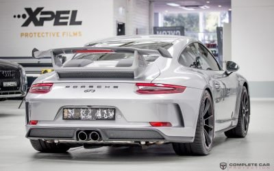 XPEL Full Body Wrap Porsche GT3 991.2 in Sydney